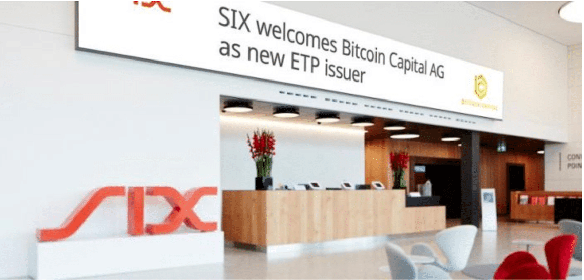 Bitcoin Capital launches first-ever actively managed cryptographic currency ETP on SIX